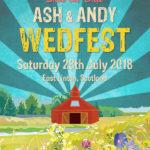 Festival-Style Wedding Invitation/Poster