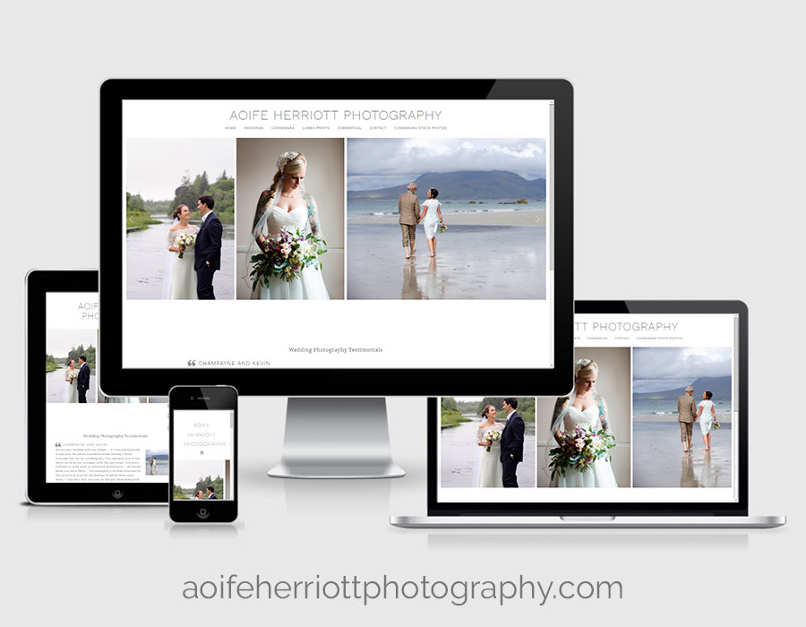 Website Design - Aoife Herriott Photography