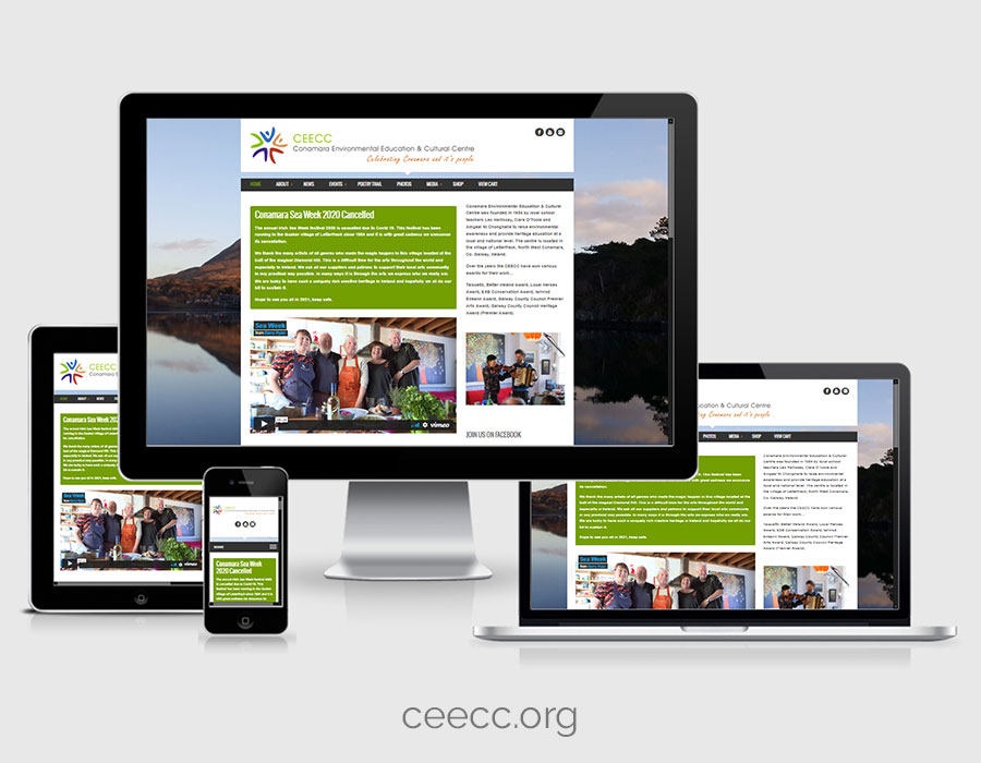 Website Design - CEECC