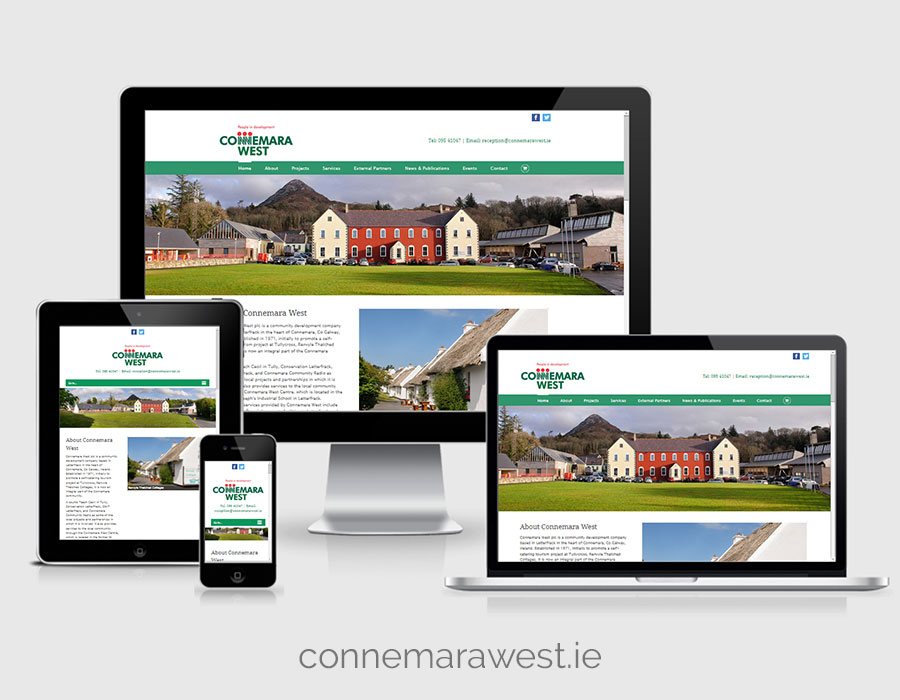 Website Design - Connemara West