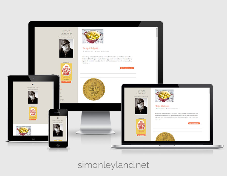 Website Design - Simon Leyland