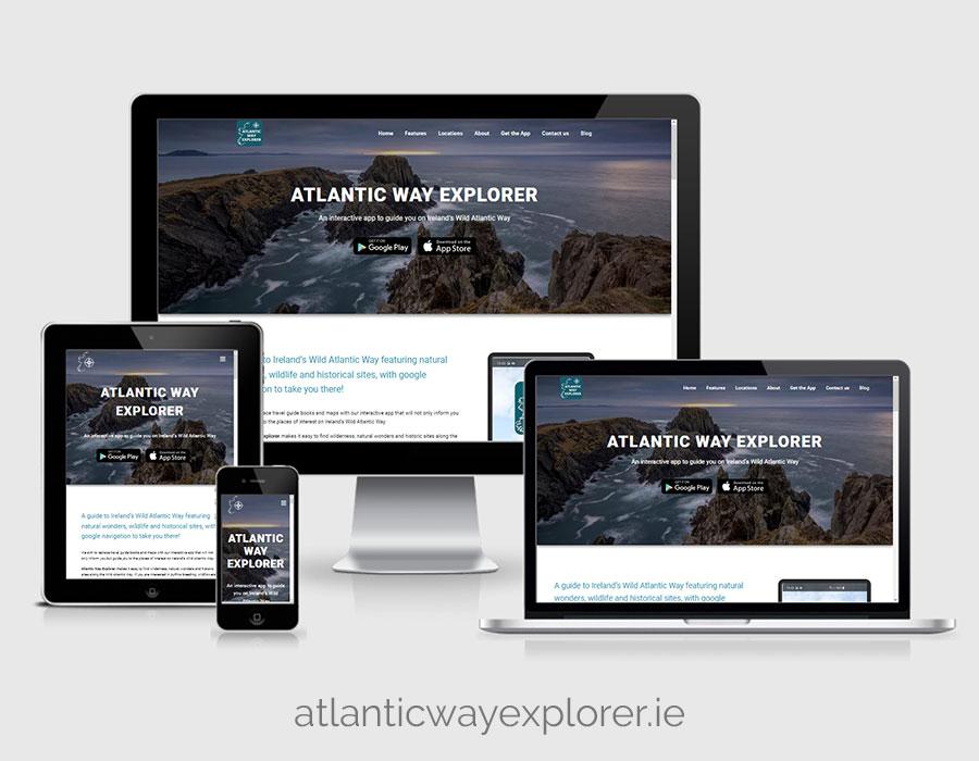 Website Design - atlanticwayexplorer.ie